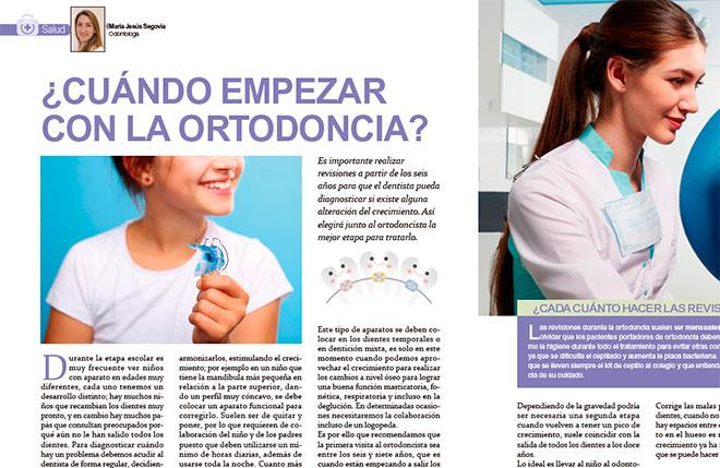 Cuándo empezar la ortodoncia? Revista Mi Pediatra