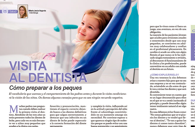 Preparar a los niños para la visita al dentista